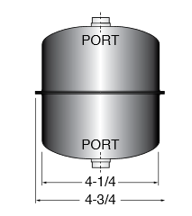 diagram of a replacement lube filter