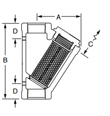 diagram of a y filter
